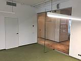 Цельностеклянная перегородка с дверью, фото 2