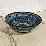 Глубокая тарелка ~450 мл. Ручная работа. Узбекистан (17_6), фото 2