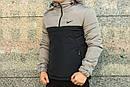 Анорак Intruder Nike, серо-чёрный, фото 2