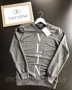 Світшот Valentino сірий