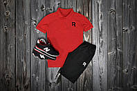 Комплект Поло + шорты Reebok, маленький логотип