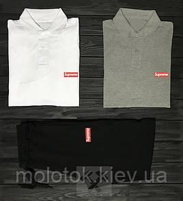 Комплект Supreme поло+шорти