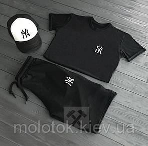 Комплект New York yankees (шорты+футболка+кепка)