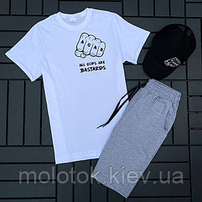 Комплект ACAB (шорти+футболка+кепка)