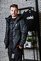 Курточка зимняя на тинсулейте Nike, черная