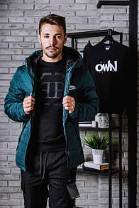 Курточка зимняя на тинсулейте Nike, зеленая