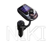 Автомобільний FM трансмітер модулятор A30 Bluetooth Чорний