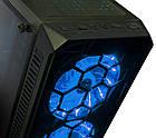 Корпус Frime Fusion Blue LED USB 3.0, без БЖ (Fusion-U3-315BLF-WP), фото 4