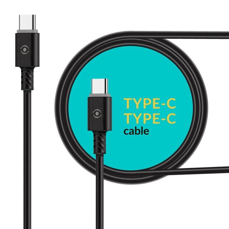 Кабель Piko CB-TT11 USB Type-C-USB Type-C 1.2 м Black (1283126504105)