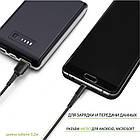 Кабель Intaleo CBFLEXM0 USB-microUSB 0.2м Black (1283126487422), фото 3