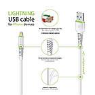 Кабель Intaleo CBFLEXL1 USB-Lightning 1.2м White (1283126487460), фото 2