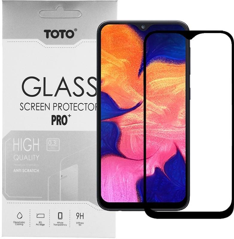 Защитное стекло Toto для Samsung Galaxy A10 SM-A105/M10 SM-M105 Black Full Cover, 5D (F_87865)