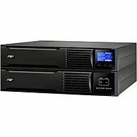 ИБП FSP Champ 1000VA RT900W, On-line, Rack, 3хSchuko, USB, RS232, пластик (PPF9001404)