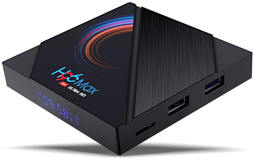 Приставка H96 Max H616 | 4/64 GB | Allwinner H616 | Android TV Box