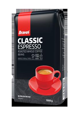 Натуральна кава в зернах Bravos Espresso 1 кг, фото 2
