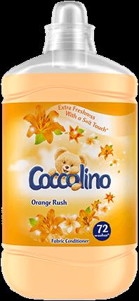 Кондиціонер для білизни Coccolino Orange Rush 1.8 л, фото 2