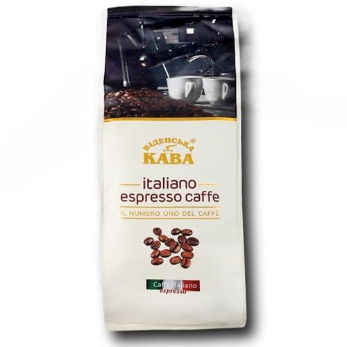 Кава в зернах Віденська Italiano Espresso Caffe 1 кг.