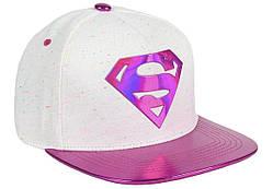Кепка Cerda Superman White - Cap Flat Peak