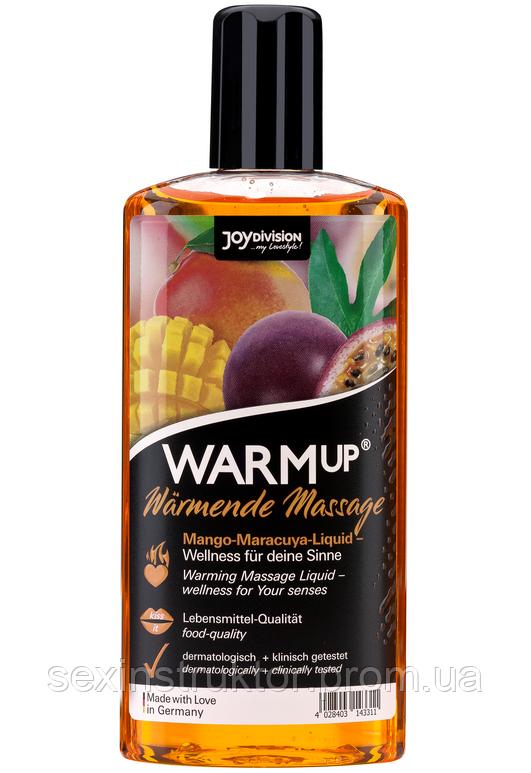 Массажное масло - WARMup Mango+Maracuya, 150 мл