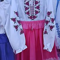 """Вышитый костюм для девочки """"Вышиванка"""""""