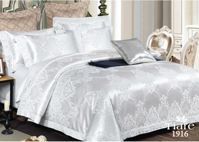 Комплект постельного белья Семейный Сатин Жаккард 1916 Tiare™