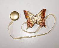 Магнит для штор бабочка