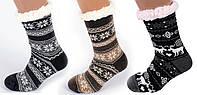 Мужские тапочки-носки с антискользящей поверхностью 40-45р, фото 1