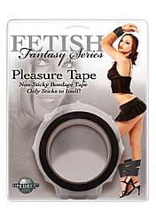 Бондажная лента - Fetish Fantasy Pleasure Tape Black, 9 м