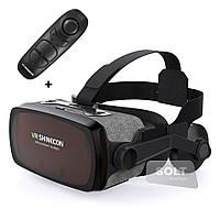 3D очки шлем виртуальной реальности с наушниками Shinecon VR SC-G07E, 4,7-6,3 дюйма, Android/iOS/Windows