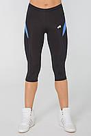 Жіночі спортивні штани Radical Flexy 3/4 S Чорно-сині (r0896), фото 1