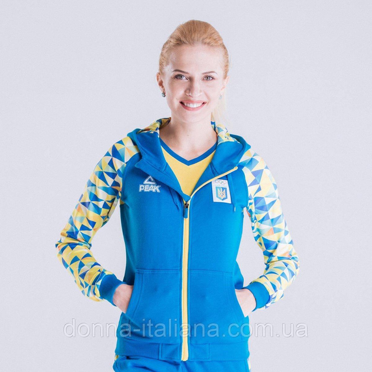 Спортивная кофта Peak Sport FS-UW1607NOK-BLU 3XL Синяя (2000118958017)