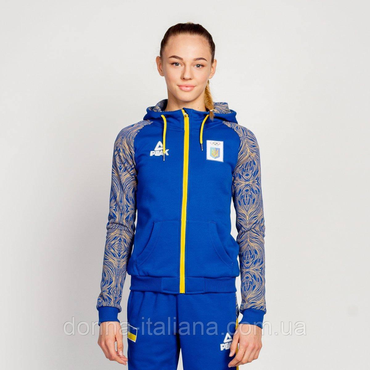 Спортивная кофта Peak Sport FS-UW1816NOK-BLU утепленная XL Синяя (6941123671606)