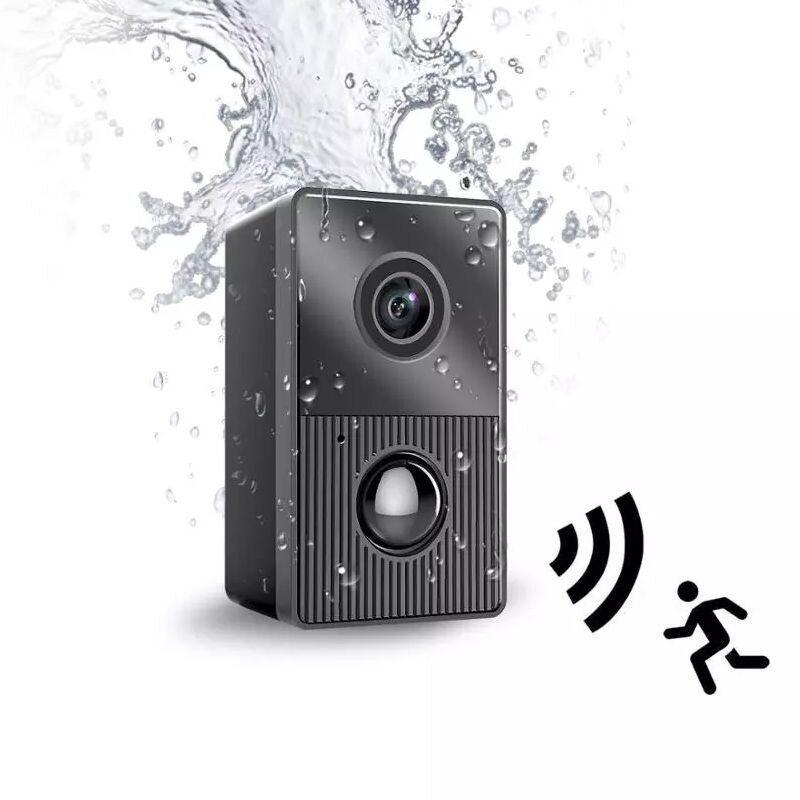 Мини камера с аппаратным датчиком движения SPIED W6 Pro, влагозащищенная, до 1 года автономной работы в режиме