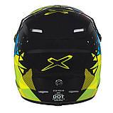 Подростковый шлем X CROSS Ski-Doo BRP JUNIOR X CROSS CRUSH HMT E/C-A/Y P/S, фото 2