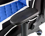Кресло Special4You ExtremeRace 3 Black/Blue (4744145015647), фото 8