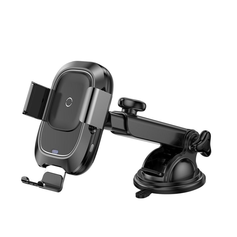 Автомобильный держатель для телефона с беспроводной зарядкой Baseus Smart Vehicle Bracket Wireless Charg 1.7A