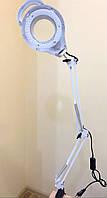 Лампа лупа косметологическая LED SP-31A (струбцина), фото 1
