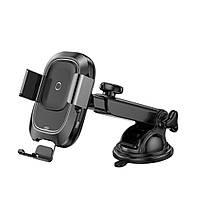 Автомобильный держатель для телефона с беспроводной зарядкой Baseus Smart Vehicle Bracket Wireless Charg 1.7A, фото 1