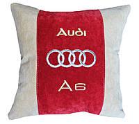 Подушка сувенирная с логотипом авто ауди Audi, фото 1