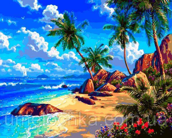 Раскраска по номерам Babylon Морской берег (VP1293) 40 х 50 см