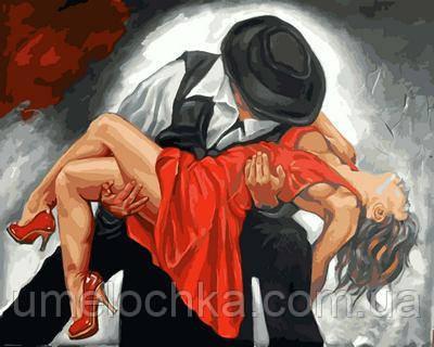 Картина по номерам Mariposa В вихре танго (MR-Q2131) 40 х 50 см
