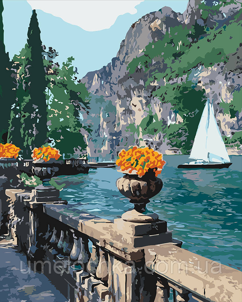 Картина по номерам Морская бухта (KH2740) 40 х 50 см Идейка