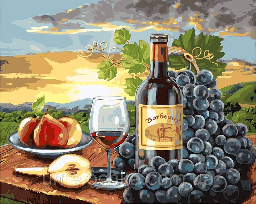 Рисование по номерам Груши и вино (BRM24253) 40 х 50 см