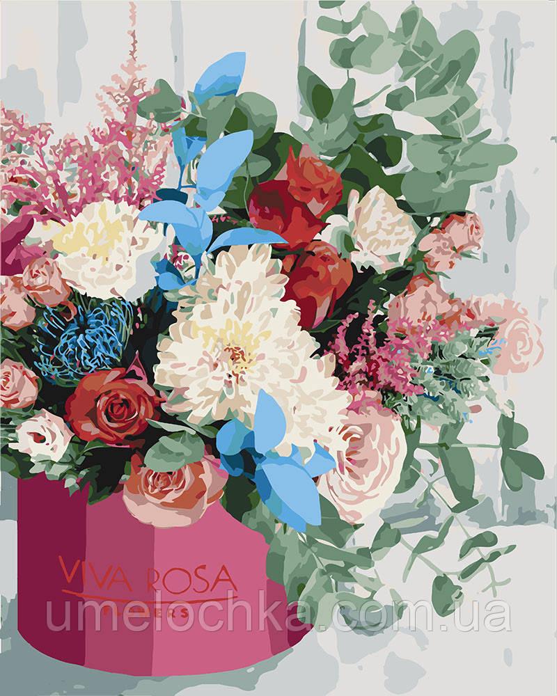 Картина по номерам Идейка Изысканный букет (KH3069) 40 х 50 см