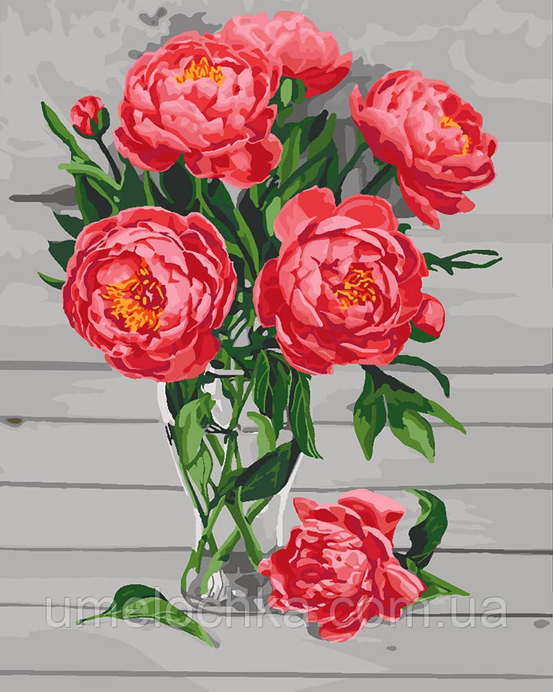 Рисование по номерам Идейка Садовая роскошь (KH3081) 40 х 50 см