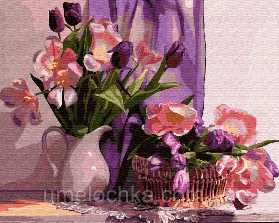 Картина по номерам BrushMe Дома у музы (BRM30956) 40 х 50 см
