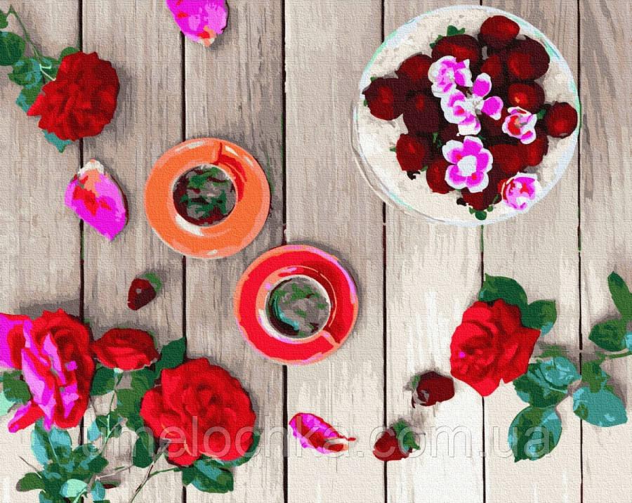 Картина по номерам BrushMe Розовый фретлэй (BRM32502) 40 х 50 см