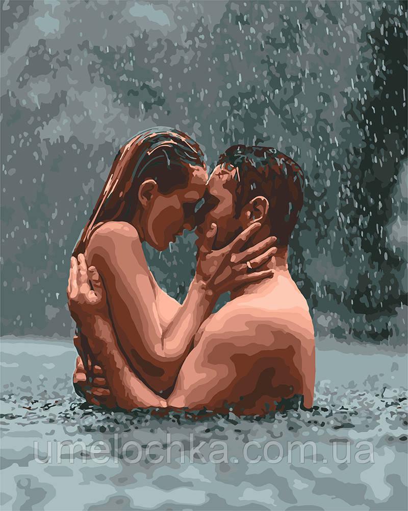 Картина по номерам Идейка В водовороте страсти (KH4674) 40 х 50 см