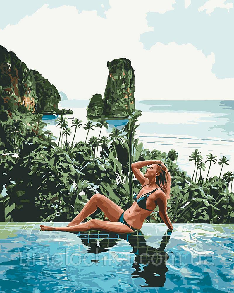 Картина по номерам Идейка Отпуск (KH4714) 40 х 50 см