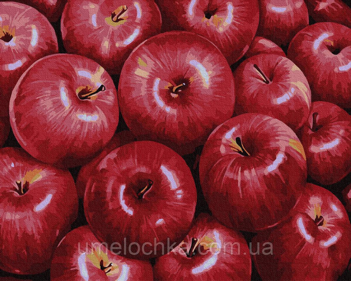 Картина по номерам BrushMe Красные яблоки (BRM34602) 40 х 50 см
